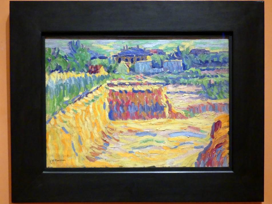 Ernst Ludwig Kirchner: Lehmgrube, um 1906