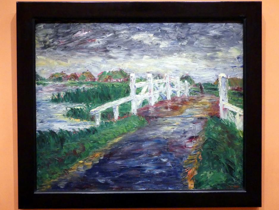 Emil Nolde: Brücke über den Sumpf, 1910