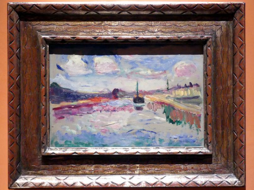 Henri Matisse: Canal du Midi, 1898