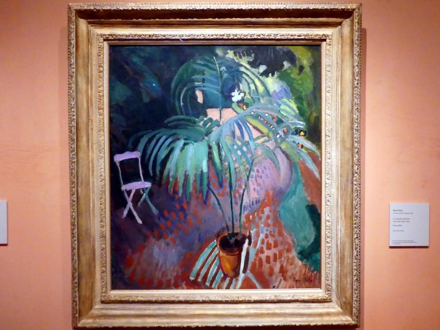 Raoul Dufy: Die kleine Palme, Um 1906