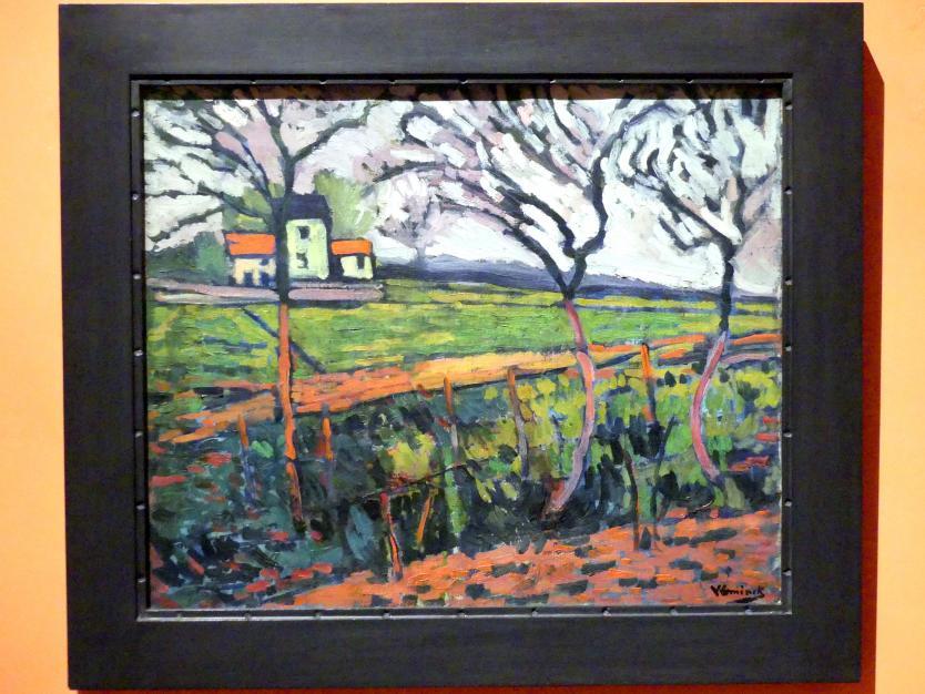 Maurice de Vlaminck: Felder in Rueil, um 1906 - 1907
