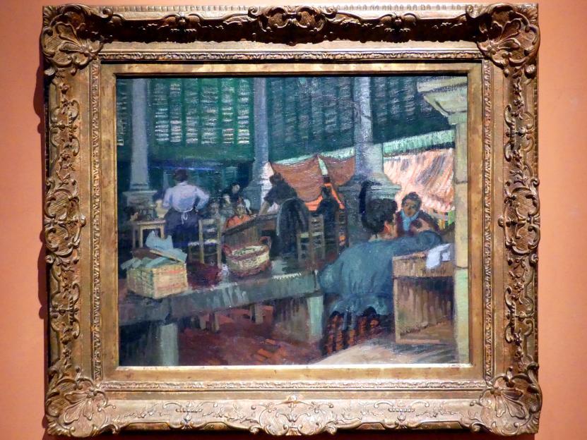 Raoul Dufy: Der Fischmarkt in Marseille, Um 1903
