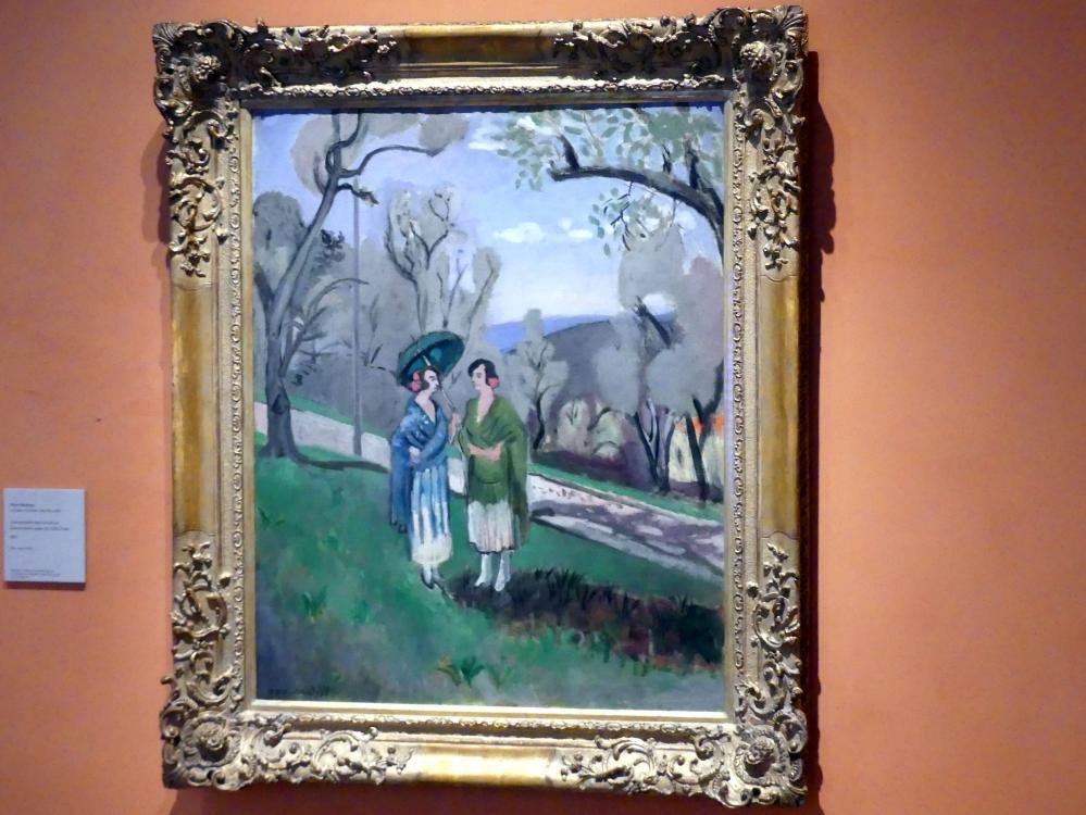 Henri Matisse: Unterhaltung unter Olivenbäumen, 1921