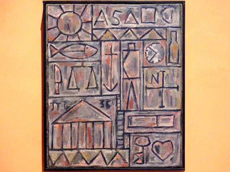Joaquín Torres García: Konstruktivistische Komposition, 1936