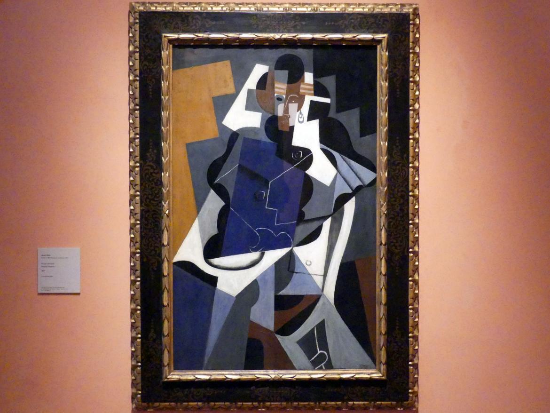 Juan Gris: Sitzende Frau, 1917