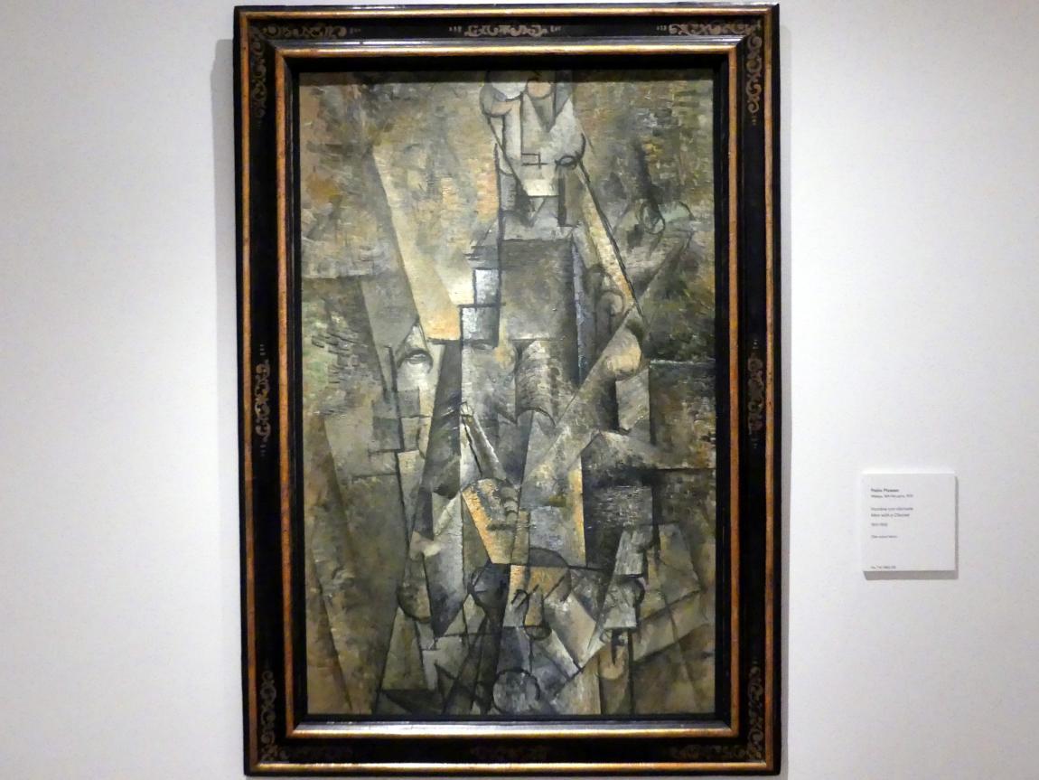 Pablo Picasso: Mann mit Klarinette, 1911 - 1912