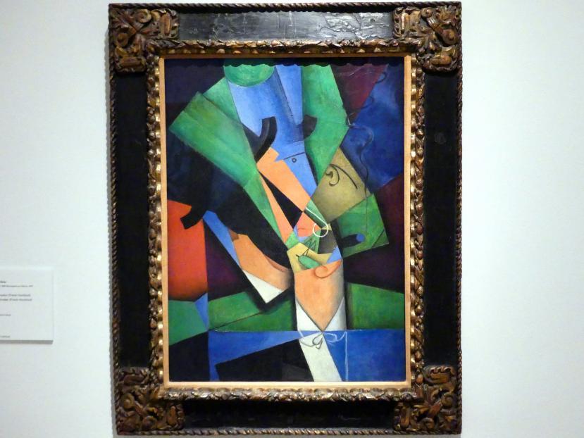 Juan Gris: Der Raucher (Frank Haviland), 1913