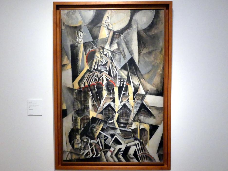 Max Weber: Endstation 'Grand Central', 1915