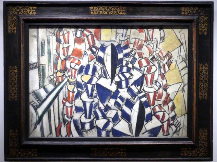 Fernand Léger: Treppenhaus (zweiter Zustand), 1914