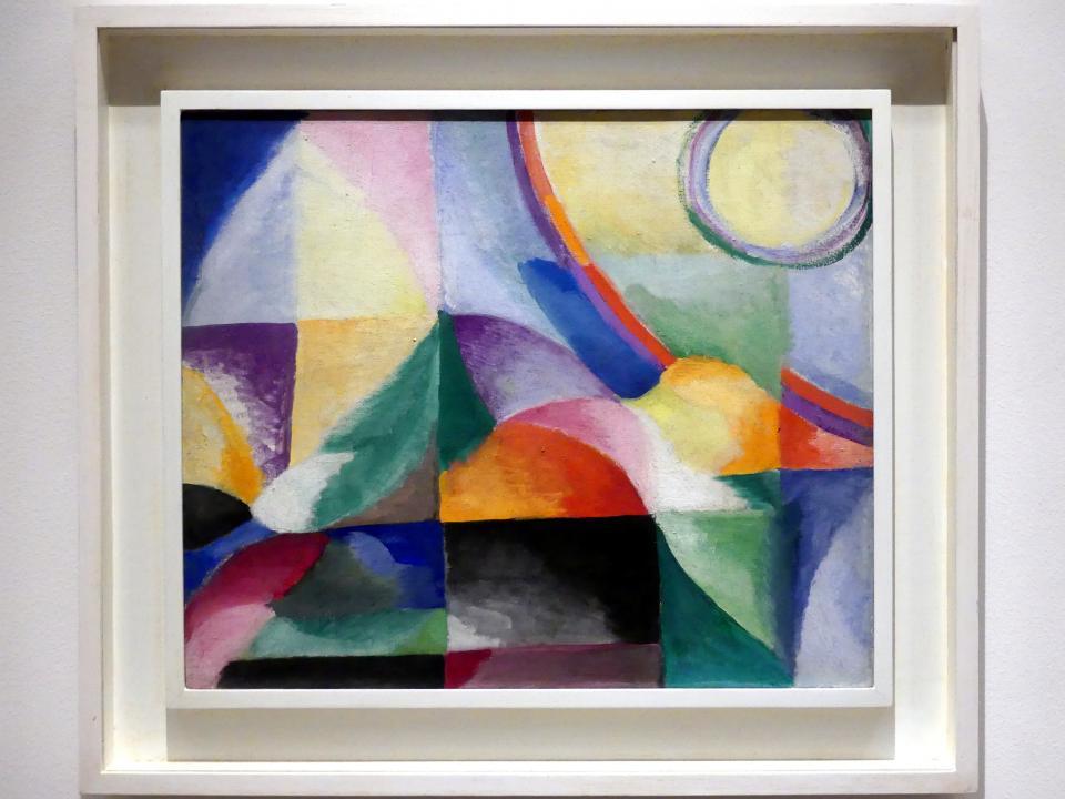 Sonia Delaunay-Terk: Simultane Kontraste, 1913
