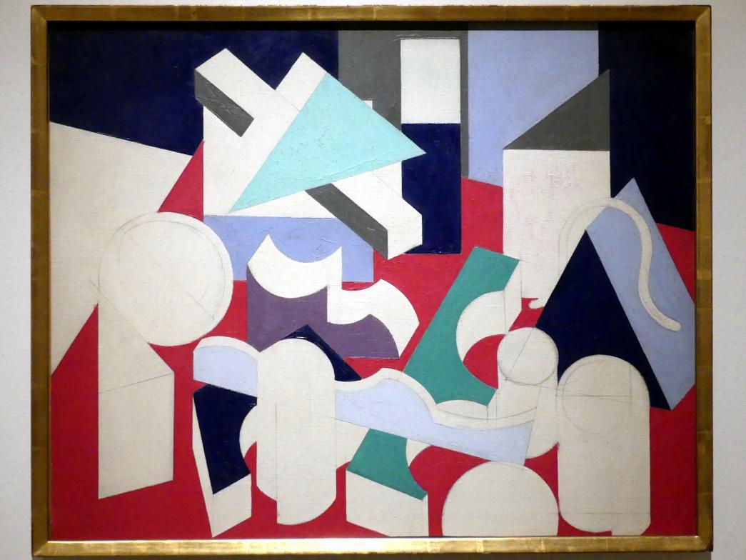 Patrick Henry Bruce: Gemälde. Stillleben, um 1923 - 1924