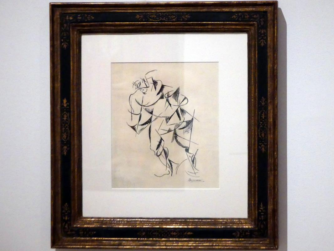 Umberto Boccioni: Dynamisierung des menschlichen Körpers: Boxer, 1913