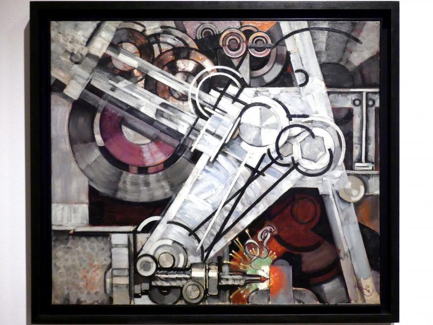 František Kupka: Bohrmaschine, um 1927 - 1929