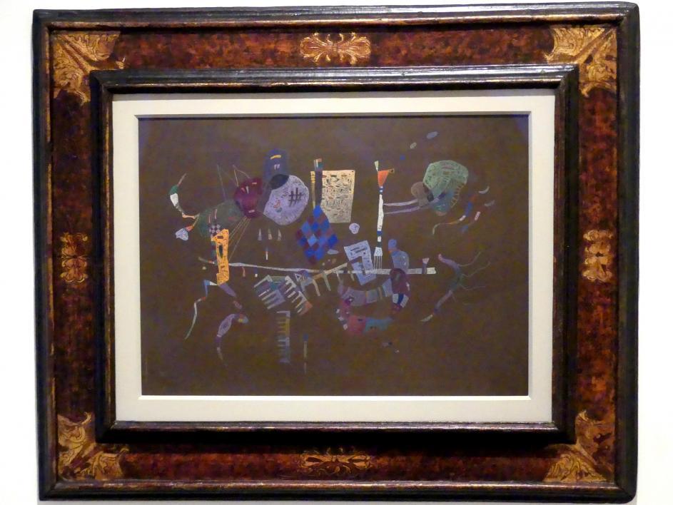 Wassily Kandinsky: Um die Line herum, 1943