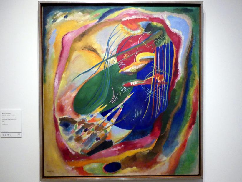Wassily Kandinsky: Bild mit drei Flecken, Nr. 196, 1914
