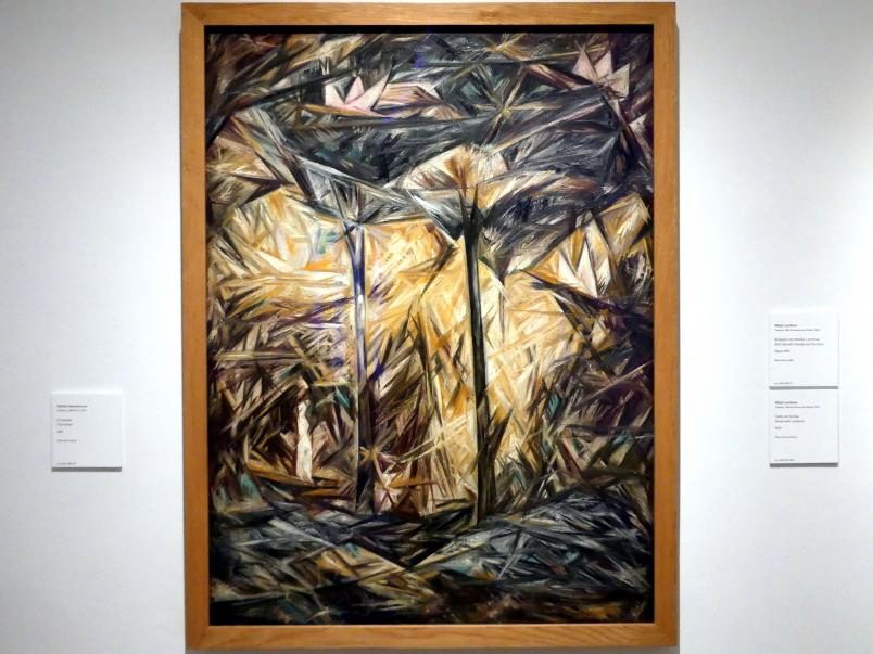Natalija Sergejewna Gontscharowa: Der Wald, 1913