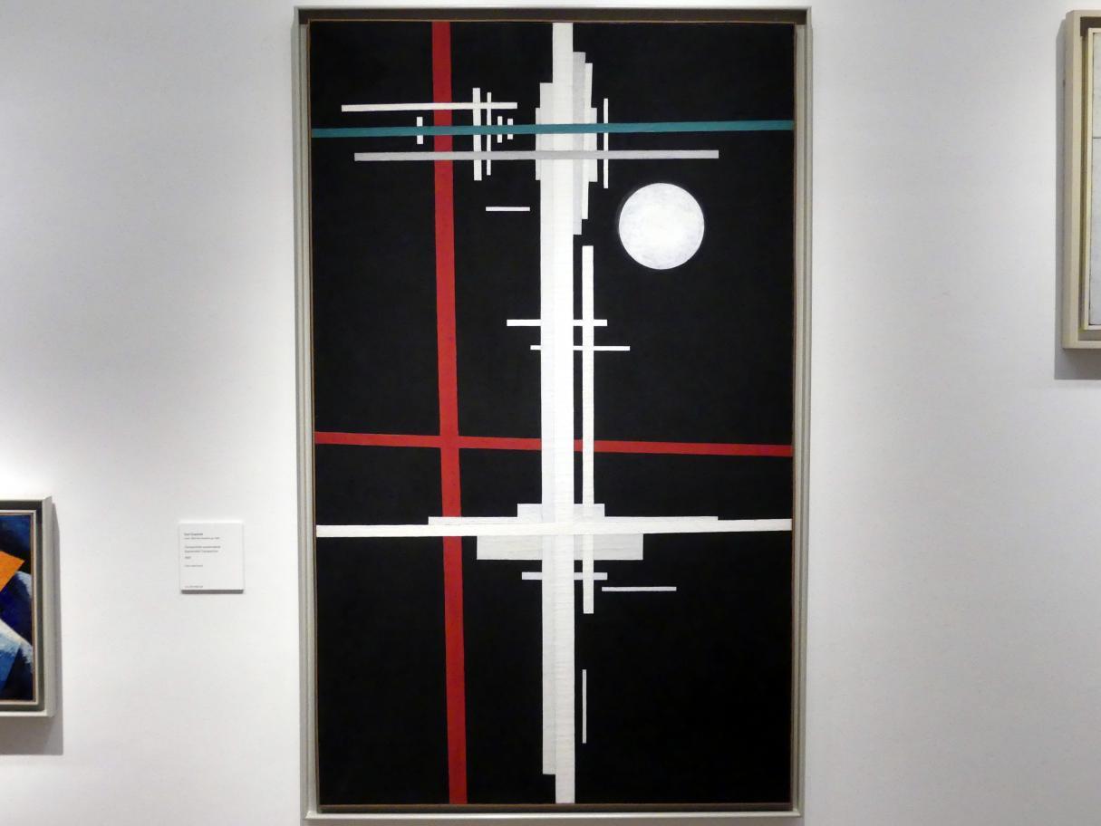 Ilja Grigorjewitsch Tschaschnik: Suprematistische Komposition, 1923