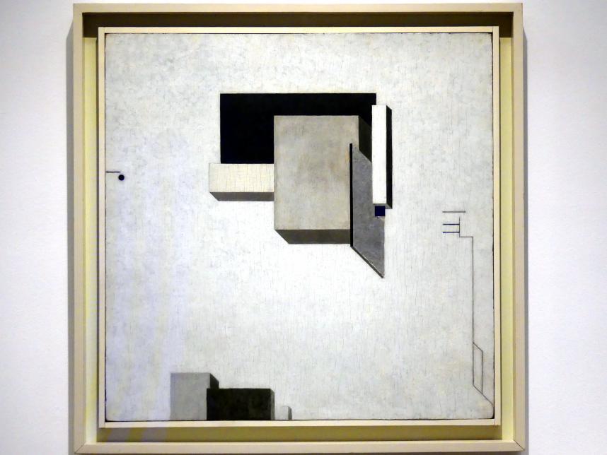 El Lissitzky: Proun 1 C, 1919