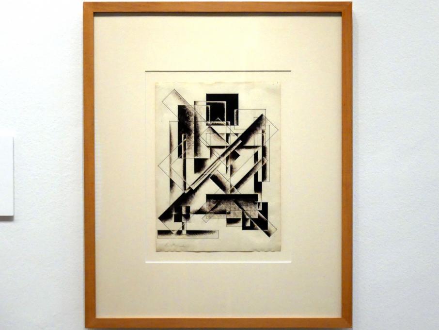 Alexander Alexandrowitsch Wesnin: Ohne Titel (Geometrische Zeichnung), um 1920 - 1921