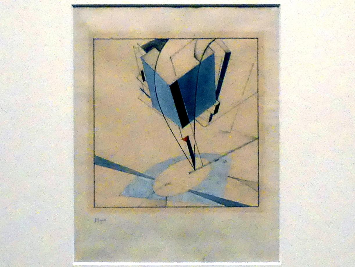 El Lissitzky: Proun 5 A, 1919