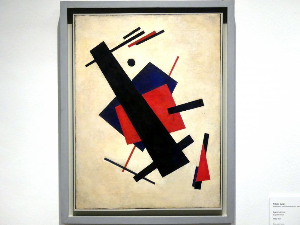 Nikolai Michailowitsch Suetin: Suprematismus, 1920 - 1921
