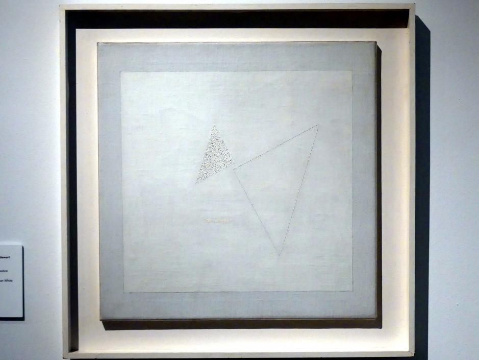 Friedrich Vordemberge-Gildewart: Komposition Nr. 104. Weiß auf Weiß, 1936