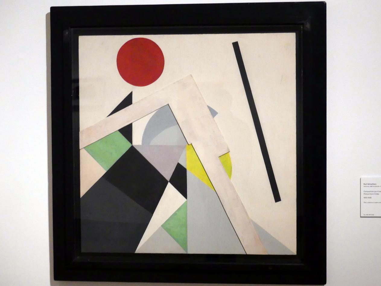 Kurt Schwitters: Komposition von 8 Seiten, 1930 - 1936