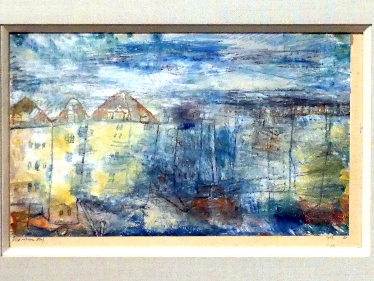 Paul Klee: Blick auf einen Platz, 1912, 10, 1912