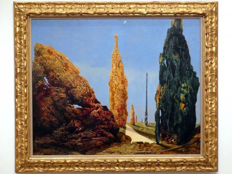 Max Ernst: Alleinstehende und verehelichte Bäume, 1940