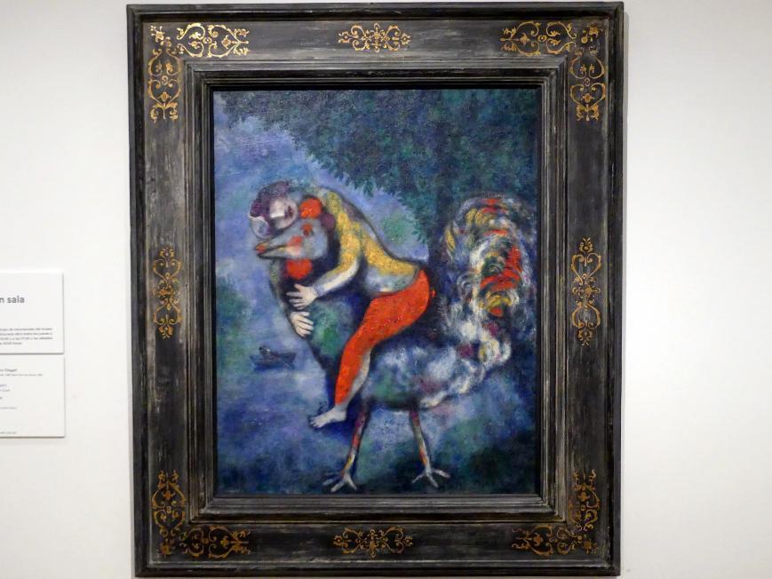 Marc Chagall: Der Hahn, 1928