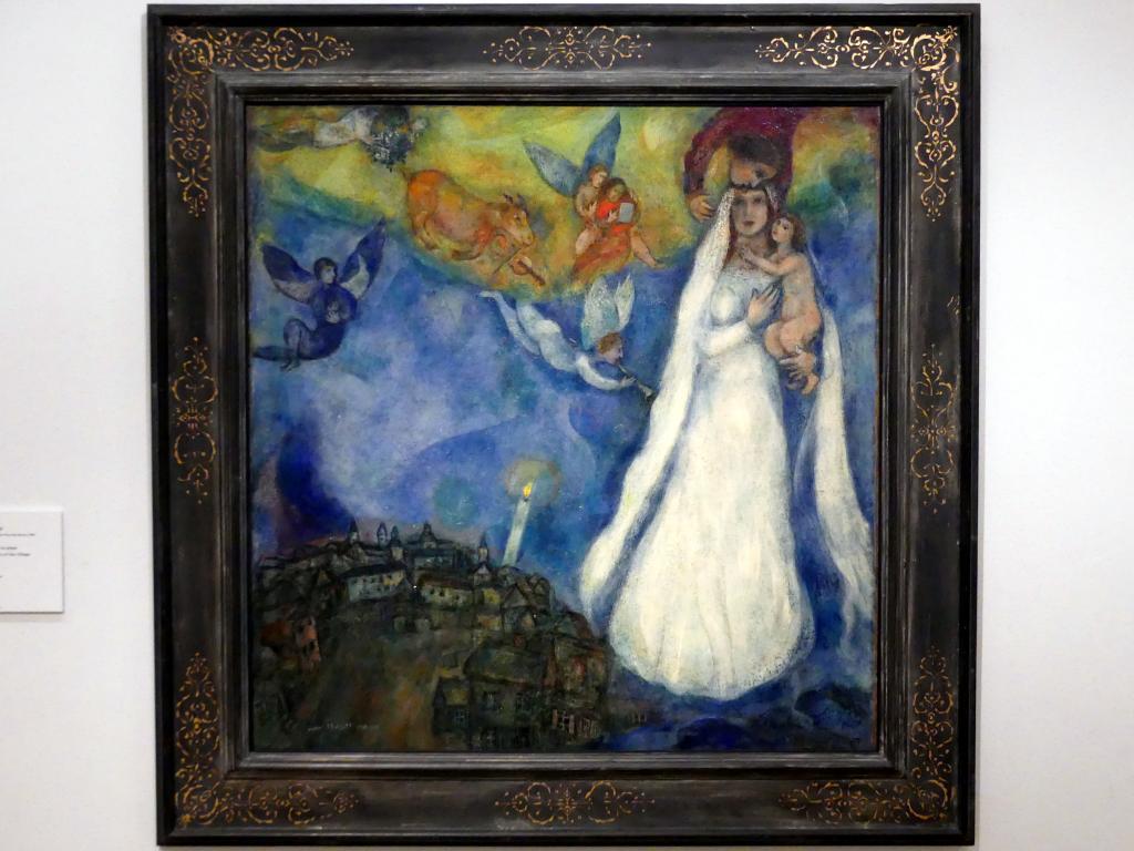 Marc Chagall: Dorfmadonna, 1938 - 1942