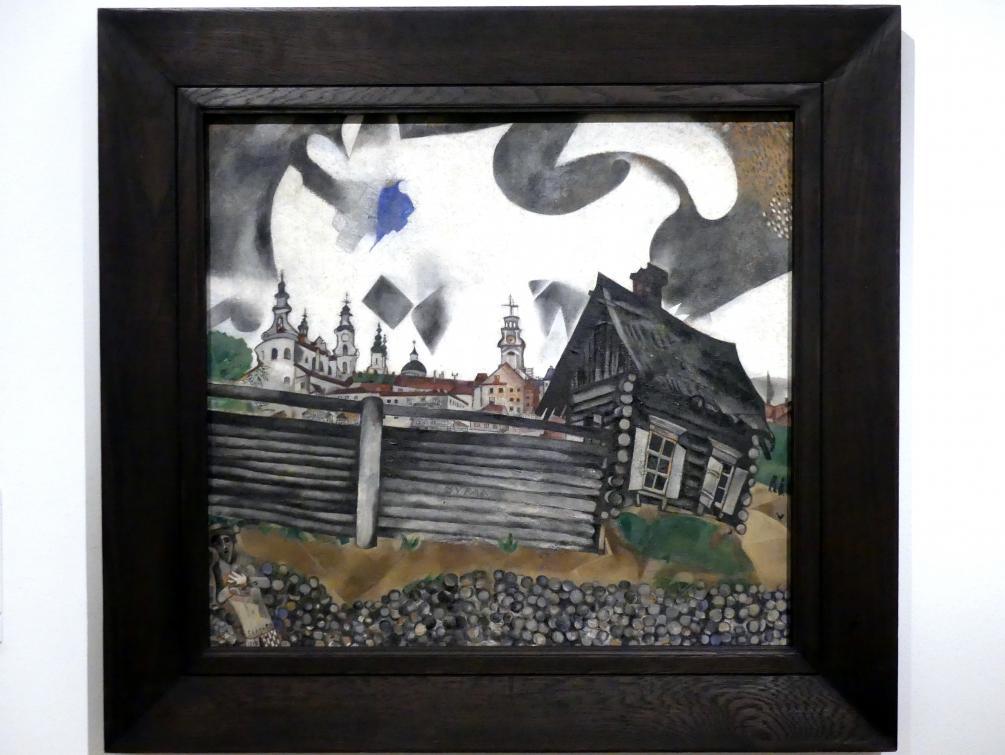 Marc Chagall: Das graue Haus, 1917