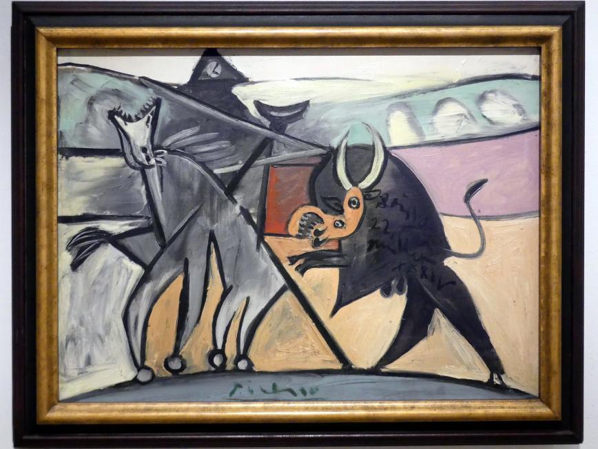 Pablo Picasso: Stierkampf, 1934