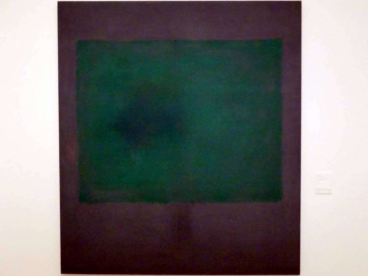 Mark Rothko: Ohne Titel (Grün auf Kastanienbraun), 1961