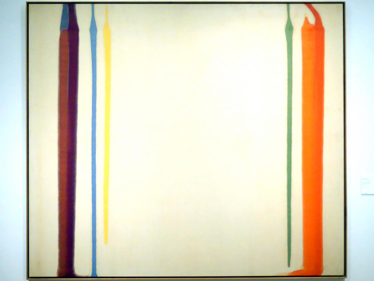 Morris Louis: Säulen des Herkules, 1960