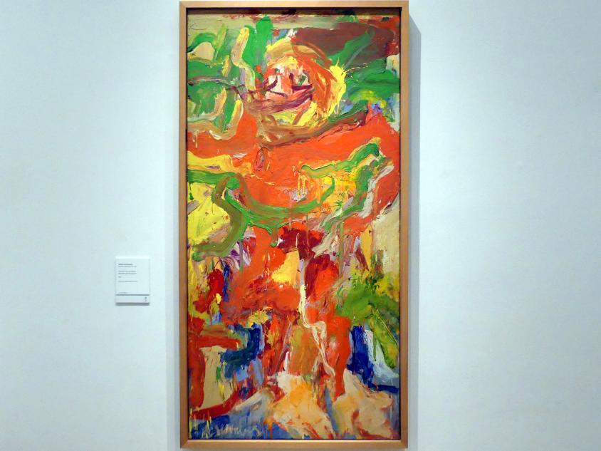 Willem de Kooning: Roter Mann mit Schnurrbart, 1971