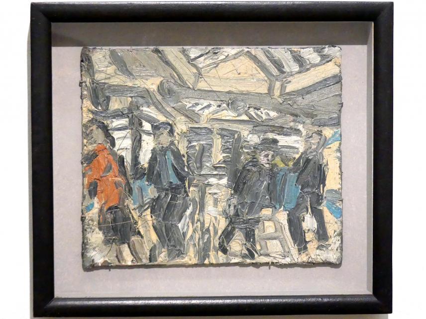 Leon Kossoff: Schalterhalle der Metrostation Kilburn Nr. 1, 1976