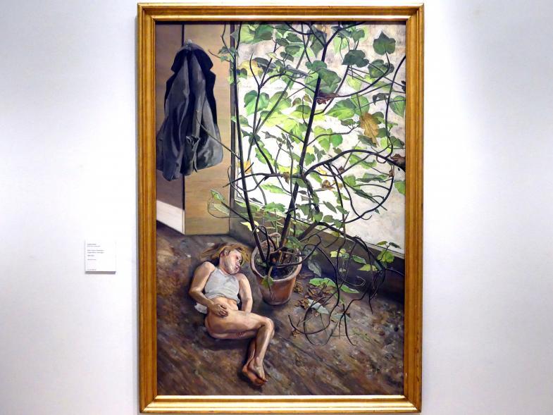 Lucian Freud: Großes Interieur. Paddington, 1968 - 1969