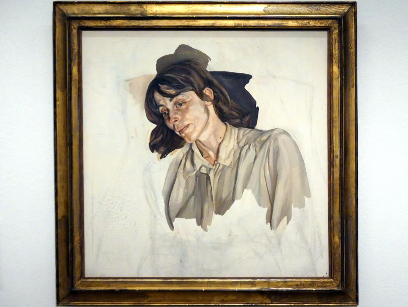 Lucian Freud: Letztes Porträt, 1976 - 1977