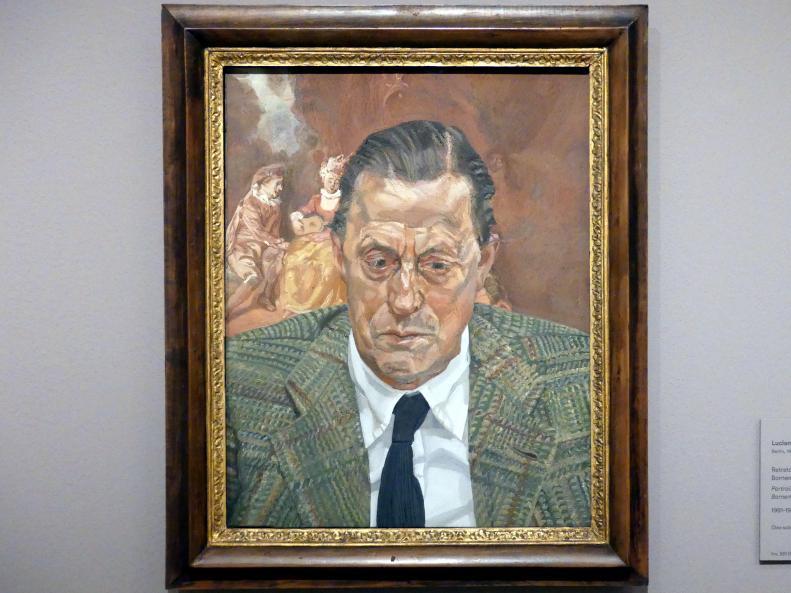 Lucian Freud: Porträt von Baron Hans Heinrich Thyssen-Bornemisza, 1981 - 1982