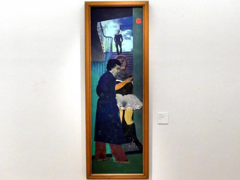 Ronald B. Kitaj: Der Grieche von Izmir (Nikos), 1976 - 1977