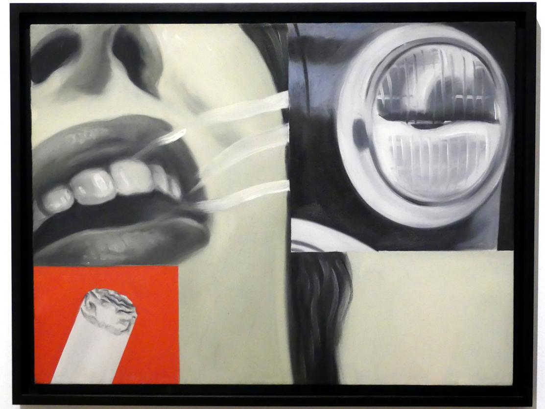 James Rosenquist: Geräuchertes Glas, 1962
