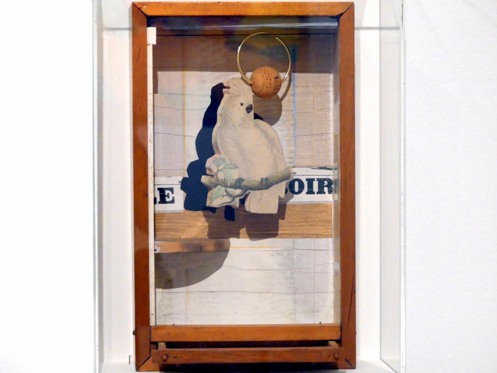 Joseph Cornell: Juan Gris Kakadu Nr. 4, um 1953 - 1954
