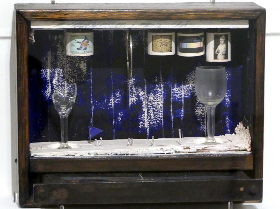 Joseph Cornell: Blaue Seifenblase, um 1949 - 1950