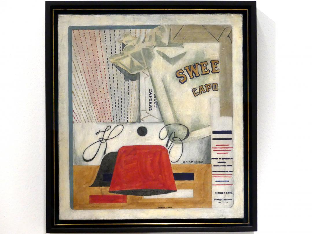 Stuart Davis: Sweet Caporal, 1922