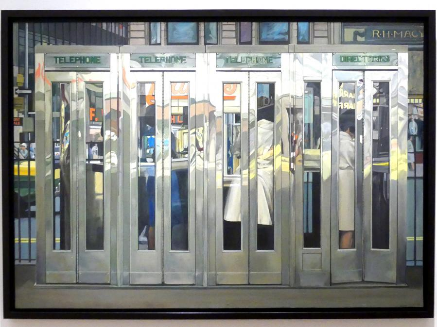 Richard Estes: Telefonzellen, 1967
