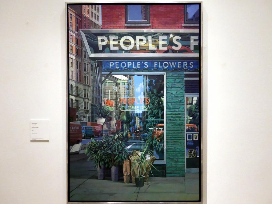 Richard Estes: People's Flowers, 1971
