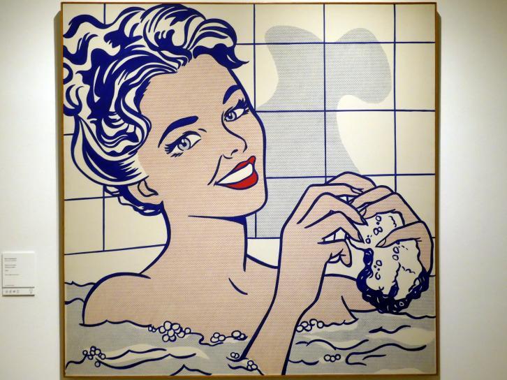 Roy Lichtenstein: Frau im Badezimmer, 1963