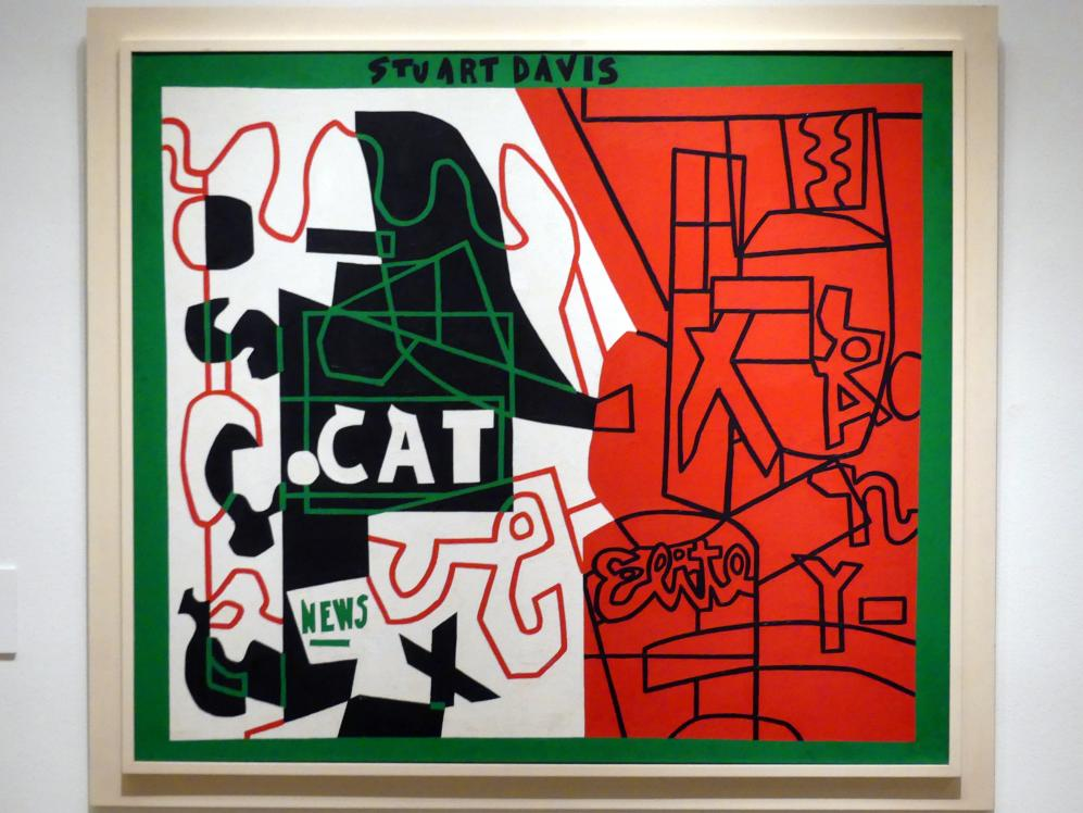 Stuart Davis: Pochade, 1956 - 1958