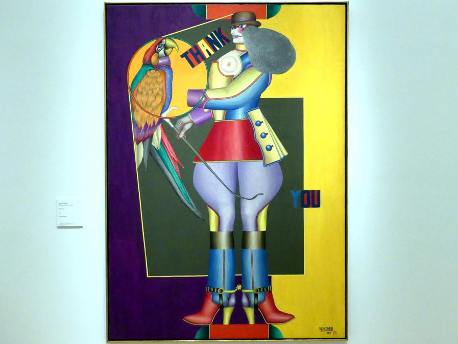Richard Lindner: Thank You, 1971